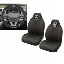 NHL Los Angeles Kings Car Truck Front Seat Covers & Steering