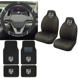 NHL Los Angeles Kings Car Truck Seat Covers Floor Mats & Ste