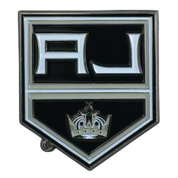 Fanmats NHL Los Angeles Kings Color 3D Metal Auto Emblem Del