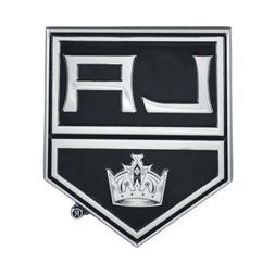 Fanmats NHL Los Angeles Kings Diecast 3D Chrome Emblem Car T