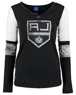 NHL Los Angeles Kings Reebok Face-Off Women's Long Sleeve He