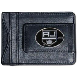 NHL Los Angeles Kings Genuine Leather Cash and Cardholder
