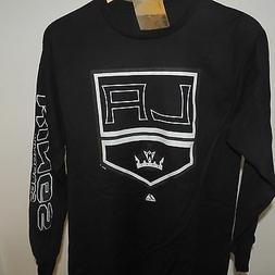 NHL Los Angeles Kings Long Sleeve Hockey Shirt New Mens Size