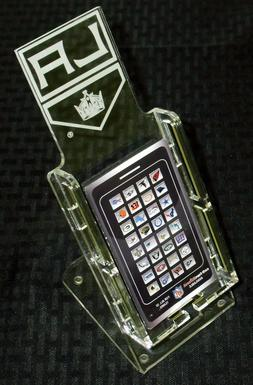 NHL LOS ANGELES KINGS NEW LICENSED CELL PHONE DESK STAND CLE