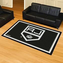 FANMATS NHL Los Angeles Kings Nylon Face 5X8 Plush Rug