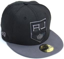 NHL Los Angeles Kings Shield Logo New Era 59Fifty Fitted Cap