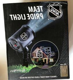NHL Los Angeles Kings Team Pride Light-LED Projector-Indoor/