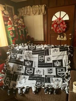 NHL Los Angeles Kings  throw blanket, Los Angeles Kings hock