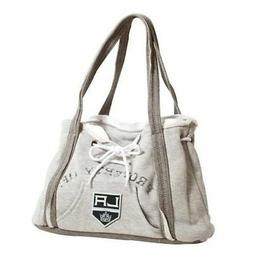 NHL Los Angeles Kings Hoodie Purse, Grey 1