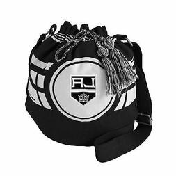 Littlearth NHL Ripple Drawstring Bucket Bag Los Angeles King