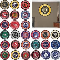 "NHL Teams - 27"" Roundel Area Rug Floor Mat - Wall Decor - Ch"