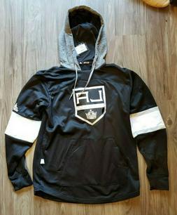 NWT Adidas Los Angeles LA Kings NHL Hockey Jersey Pullover H