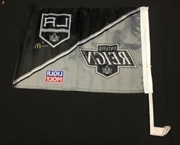 Ontario Reigh/Los Angeles Kings NHL Car Flag SGA