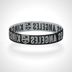 Reversible Los Angeles Kings Bracelet Wristband Go Kings