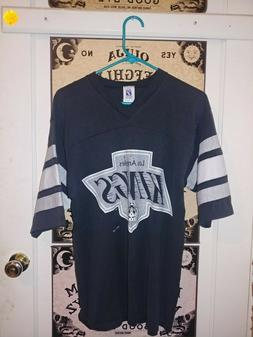 Vintage 1980's Los Angeles Kings Jersey - L 3/4 Sleeve Shirt