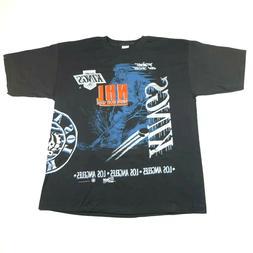 Vintage 90s Los Angeles LA Kings T Shirt Mens XXL 1995 NHL H