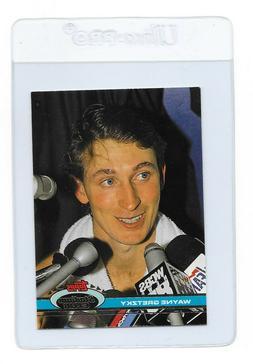 WAYNE GRETZKY 1991 TOPPS Stadium Club Los Angeles KINGS NHL