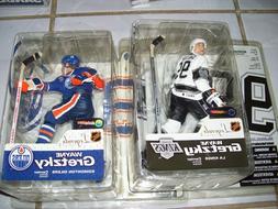 Wayne Gretzky Los Angeles Kings OILERS LOT NHL McFarlane Spo