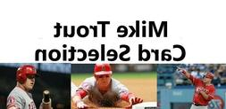 You Pick Your Card - Mike Trout - Los Angeles Angeles - Base
